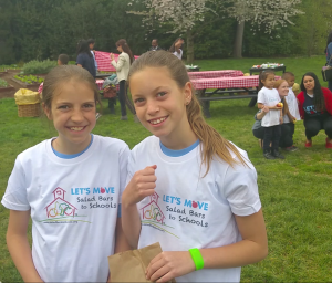 11 Year Old Marley Santos and Amelia Anderson of Foothills Elementary, Boulder, CO